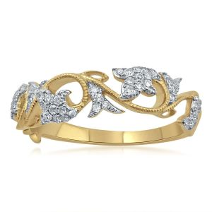 Buy Kiara Sterling Silver Poonam Ring Kir1564 online