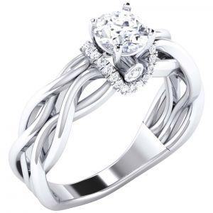 Buy Kiara Sterling Silver Archana Women Ring Size Kir1719b online