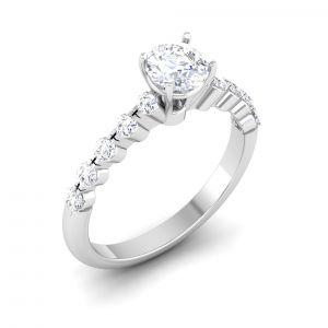 Buy Kiara Sterling Silver Pratiksha Women Ring online