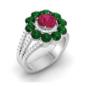 Buy Kiara Sterling Silver Diksha Women Ring online