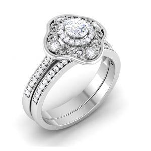 Buy Kiara Sterling Silver Pournima Ring Kir1782 online