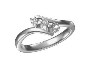 Buy Kiara Sterling Silve Prutha Ring Mkr042w online
