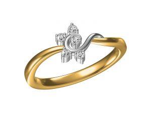 Buy Kiara Sterling Silver Sanchi Ring Mkr085yt online