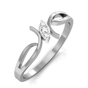 Buy Avsar Real Gold And Swarovski Stone Vinita Ring Tar033wb online
