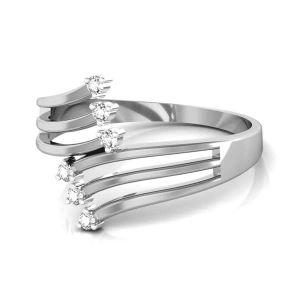 Buy Avsar Real Gold and Swarovski Stone Divya Ring online