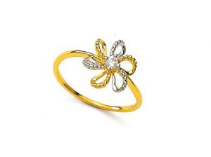 Buy Unique Real Gold And Diamond Stunning Ladies Ring online