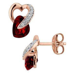 Buy Kiara Sterling Silver Earring made with Swarovski Zirconia online