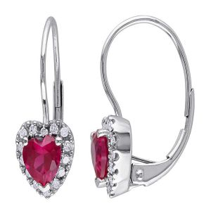 Buy Kiara Swarovski Elements White Gold Plated Earring online