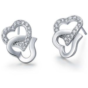 Buy Kiara Sterling Silver Earring Made With Swarovski Zirconia Vae019 online