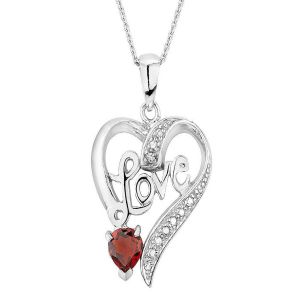 Buy Sterling Silver Pendant Made With Swarovski Zirconia Vap026 online