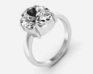 Buy Kiara Jewellery Certified Zircon 6.5 cts or 7.25 ratti Zircon Ring online