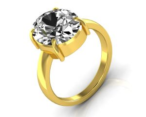 Buy Kiara Jewellery Certified Zircon 9.3 cts or 10.25 ratti Zircon Ring online