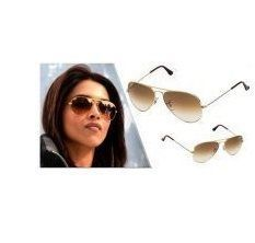 Buy EDGE Plus Light Brown Sunglasses For Women In Double Shade online