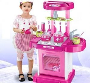 Buy Kids Kitchen Set Toy With Light And Sound Online Best Prices