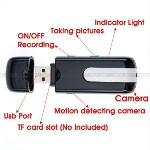 Buy Spy USB Pen Drive Hidden Video Camera 4 GB Card online