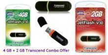 Buy Combo Offer 4 GB And 2 GB Transcend Pendrive online