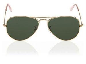 Buy Golden High Quality Aviator Sunglasses online