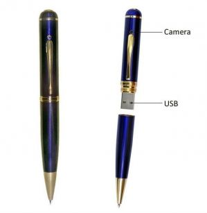 Buy 32 GB Blue Hidden Spy Pen Pinhole Camera online