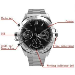 Buy 4GB Wrist Watch Spy Hidden Camera online