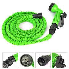 Buy Water Pipe Working Lenght 15m Retractable Hose Garden Water Hose Spray Gun online