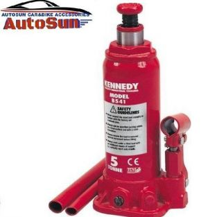 Buy Autosun-hand Operated Hydraulic Bottle Car Jack 5 Ton-leo online