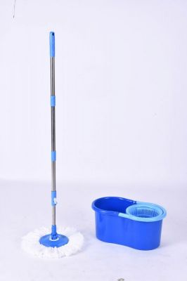 Buy Spin Mop With 2 Microfiber Mop Pads - Color May Vary online