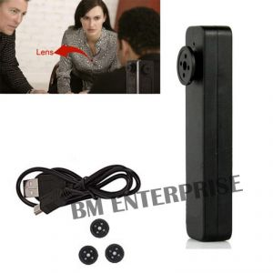 Buy Spy Mini Button Hy-900 Button Pinhole Hidden Camera With Digital Audio Video Recorder With USB Cable And Four Extra Botton Cover online
