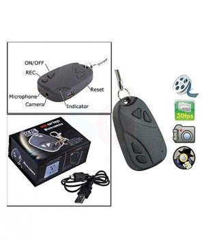 Buy Rissachi Rs808 Key Chain Button Spy Camera online