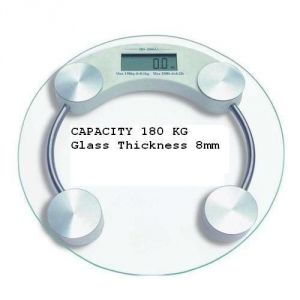 Buy 8 MM 180 Kg Digital LCD Personal Weighing Scale Body Weight Machine online