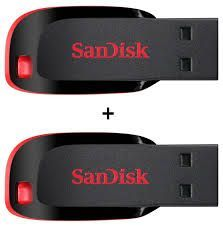 Combo Of Sandisk 16GB Pen Drive And 8GB Pen Drive(free Shipping)