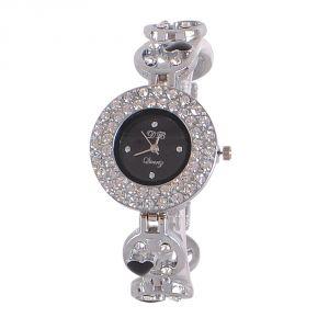 Buy Silver Fancy Ladies Watch- Db Silver Bd online