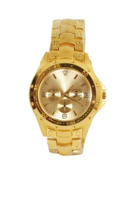 Buy New Stylish Chrono Party Wear Wrist Watch For Men online