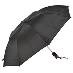 Buy Unisex 2 Fold Umbrella - Black online