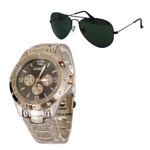 Buy Executive Watch For Men Aviator Sunglasess - Mfwav9 online