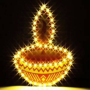 Buy Decorative Lights-hanging Diya Light online