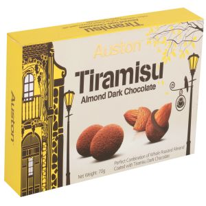 Buy Auston Tiramisu Almond Dark Chocolate online