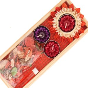 Buy Candle - Floating Candle Set With Potpourri online