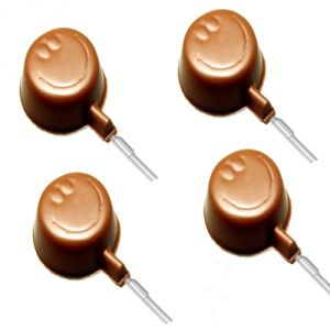Buy Chocolate-sugarfree Smiley Lollies online