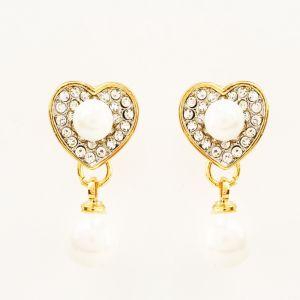 Buy Heart Pearl Earings online