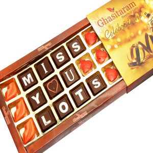 Buy Theme Chocolates- Miss You Lots online