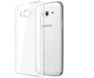 Buy Ultra Clear Transparent Silicon Cover For Samsung Galaxy A5 online