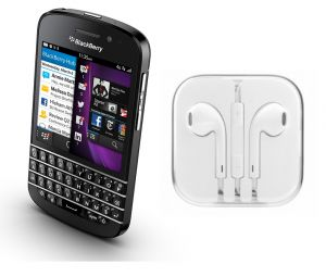Buy Hi Definition Stereo Earphones With Mic For Blackberry Q10 online