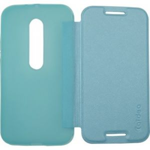 Buy Snaptic Caidea Blue Flip Cover For Samsung Galaxy J1 online