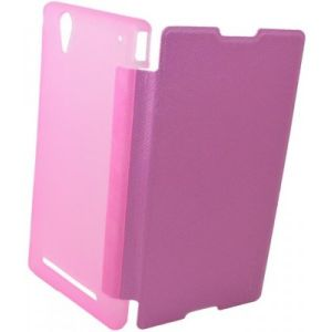 Buy Snaptic Caidea Pink Flip Cover For Samsung Galaxy J1 online