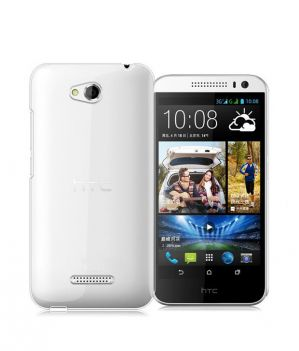 Buy Ultra Thin 0.3mm Transparent Soft Back Case For Htc Desire 616 online
