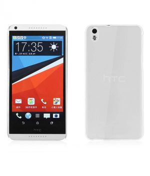 Buy Ultra Thin 0.3mm Transparent Soft Case For Htc Desire 816 & Screen Guard online