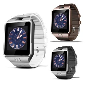 Buy Snaptic Dz09 Bluetooth GSM Sim Enabled Smart Watch With Hidden Camera online