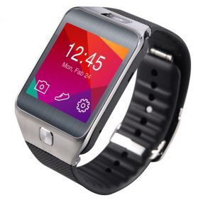 Buy Totu Dz09 Bluetooth Sim Enabled GSM Smart Watch - Grey Black online