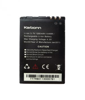 Buy Karbonn Smart A12 Li Ion Polymer Replacement Battery By Snaptic online