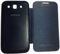 Buy Samsung Galaxy Grand Quattro I8552 Flip Cover Black online
